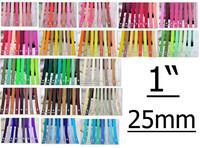 "1""(25mm) Solid Color Hair fitas de gorgurao Ribbon Grosgrain Wedding Ribbon 100yard/lot Retail"