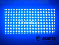 Hot Sale P10 Blue color Outdoor waterproof LED display screen module high brightness 32*16cm