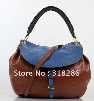 2012 new designer handbag women fashion/casual genuine leather bags free shipping