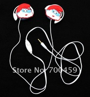 Free Shipping + 6 pcs sets Cartoon fashion headset Cartoon fashion headset /Ear Hook /multimedia speech headset