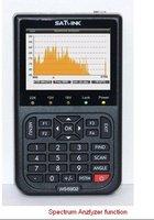 DHL free shipping satlink WS-6902 Satellite Finder meter with Spectrum Analyzer digital satfinder
