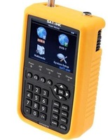 "DHL free shipping Satlink WS-6909 3.5"" DVB-S & DVB-T Combo satellite meter satellite finder 6909"