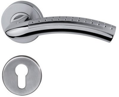 GREAT DESIGN AND HOTSALE Solid stainless steel lever handle YW-LH0129(China (Mainland))