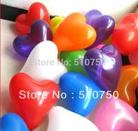 Wholesale 30p 10inch Heart Shape Balloon Latex Balloons Helium Balloon Birthday Wedding Party Decoration Mixed Color