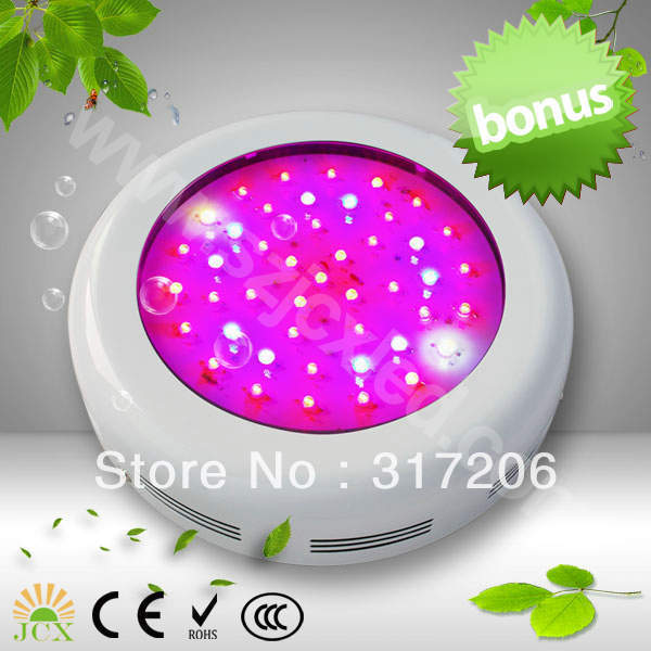 Freeshipping mini ufo 90w(45*3w) led grow light for your indoor growing plants(China (Mainland))