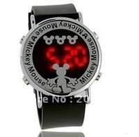 latest style, Mickey  LED Watch.Children Watches.free shipping