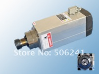 3.5KW ER25 electric spindle / cnc spindle / cnc spindle motor,air-cooled ,18000RPM,300Hz,for cnc router