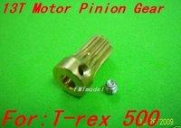 F00461 1pcs 13T 5MM Motor Pinion Gear,TREX 500 Motor + Free shipping