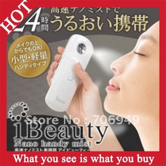 Free Shipping! 20pcs Japanese Beauty Hydrating Water Nano Portable Spray Device Beauty Instrument Face Care -- MSP46 Wholesale(China (Mainland))