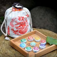 81pcs 9 kinds of Flavor Puer tea yunnan pu'er New quality Puerh tea Chinese tea,free shipping