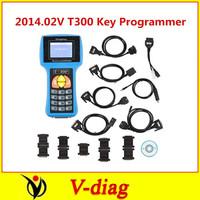 Professional Auto Key Programmer 2014.02V T300 Key Programmer English Blue T300 Pro with Best Price