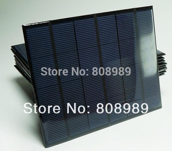 HOT Sale Solar Cell 6V 3.5Watt Mini Solar Panels Solar Power 3.6V Battery Charger Solar Led Light+Diode 3pcs/lot Free Shipping(China (Mainland))