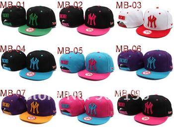 Wholesale Free Shipping 12pcs New Arrive Ymcmb snapbacks Hats,snapback caps,sports hats,snap back adjustable baseball Hat / Cap