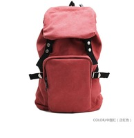 New arrival 2012 new fashion Travel Backpacks,Male&amp;amp;Females Backpacks with Canvas,Chinese Red&amp;amp;sky blue,Free shipping