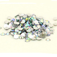 1000 pcs Flat Back 3mm Acrylic ab rhinestones Crystal Wholesale for Nail Art Free Shipping