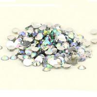 1000 pcs Flat Back 3mm Acrylic ab rhinestones Crystal Wholesale for Nail Art Free Shipping