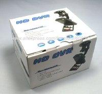 Car Vehicle DVR 6IR night vision car video recorder 120 degree view angle H198 dropship