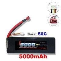 Free shipping NEW 100% GF 11.1V 5000MAH 25C Recharger Lipo battery