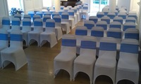 600pcs Free shipping white Lycra chair cover Spandex chair cover for weddings