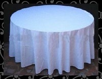 Free shipping-table cloth -voile table cloth- organza overlay
