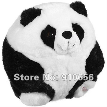 2012 Hot Wholesale 17cm Cute Plush Stuffed Panda Toys+Free Shipping 10 pieces / lot Pandas Toy