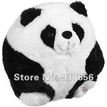 2012 Hot Wholesale 17cm Cute Plush Stuffed Panda Toys+Free Shipping 10 pieces / lot Pandas Toy