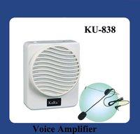 new hotsale Voice Amplifier Speaker Portable Voice Amplifier Speaker Megaphone KU838 sample price +100% Guanrateed