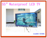 Free shipping 55 inch Waterproof TV Mirror TV