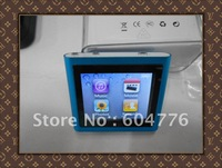 "Just for you-Wholesale 1.8"" Touch scren MP4 player 6th Gen support FM radio Games Ebook Gravity fast free shipping"