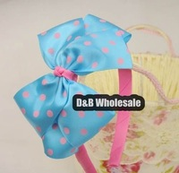 Freeshipping! NEW Kids/baby Bowkno Ribbon Hairbands/Headband/Hiar wear/Hair Accessories/Kroean Style/Wholesale 80152