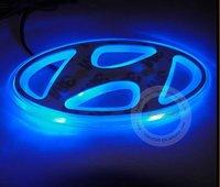 Free Shipping!!LED Car Badge Light for  HYUNDAI IX35 with 1year Warranty