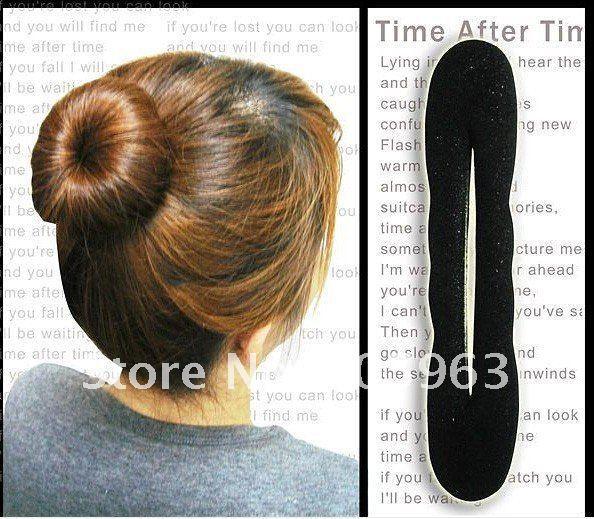 20pcs mix size sponge hair band hair bun hair accessory(China (Mainland))
