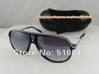 Женские солнцезащитные очки 1 pcs! Fashion Men's Matte Brown Sport Sunglasses Brand Glasses plastic Sun glasses modelK001