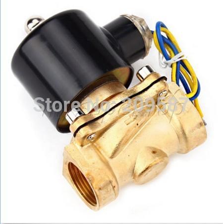 Электромагнитный клапан CNKAIY N/C 220V AC 3/4 2w/200/20 2W-200-20 220V электромагнитный клапан indesit с сушкой