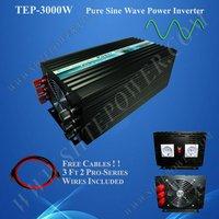 48v 3000w inverter 3kw pure sine wave, off grid tie, solar home inverter
