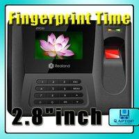 "Fingerprint Time Attendance System 2.8"" TFT Color Screen Fingerprint, Password, Proximity Card"