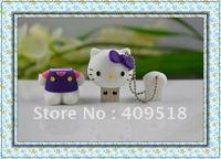 Hot! beautiful Hello kitty USB flash memory drive 1gb 2gb 4gb 8gb 16gb 32gb ,free shipping