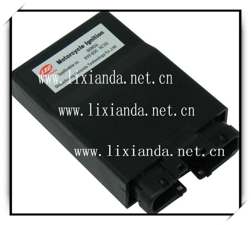 Intelligent Digital Motorcycle CDI Unit RVF400 NC35 for Honda Ignitor # LXD-NC35(China (Mainland))