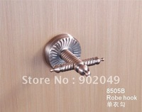 Free Shipping Robe Hook Bathroom Enclosure KG-8505B Clothes Hooks Sanitary Ware Fitting