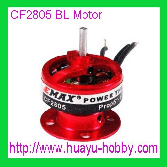 free shipping EMAX CF2805- KV2840 Suitable for 7.4V li-po Outrunner Brushless Motor for r/c electric airplane