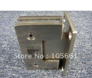 free shipping304 stainless steel bathroom folder / shower hinge / glass / glass hinge 90 degrees