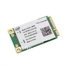 For HP Intel wireless WiFi Link 5100 Mini PCI-E 5100 AGN PCI-E card 300Mbps 802.11a/b/g/n 512AN_MMW 2.4/5.0 GHz 480985-001(China (Mainland))