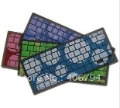 Silicon Keyboard Skin Protector Case For MacBook Pro 13.3&quot; 100 pcs/lot Colorful