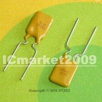10 PCS RUEF090 30V 0.90A DIP-2 X30 UF090 Polyswitch, Resettable Fuse, PPTC