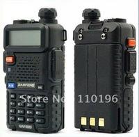 Dual Band FM Transceiver < DHL Free Shipping Baofeng UV-5R 5W 128CH DTMF FM Radio UHF&VHF >