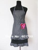 Hot sale free shipping beautiful lady's  lace apron