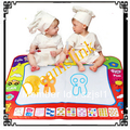 New Aquadoodle Drawing Mat &1 Water Drawing Pen / Magic Water Drawing Toy Wholesale + Free Shipping 60*80 CM