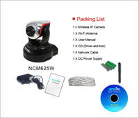 Wansview Wireless NCM625W H.264 Plug & Play WIFI IP Camera 3.6mm Support SD Card