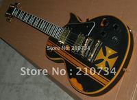 Hot sales ESP LTD EC-401 CUSTOMIZED AS IRON CROSS electric guitar free shipping