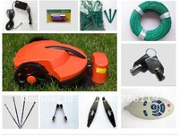 Free Shipping The Cheapest Grass Robot Mower+Remote Controller+Li-ion Battery